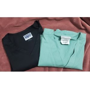 UA and Strictly Scrubs Top